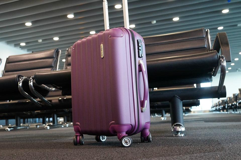 Багаж аэропорт чемодан терминал самолёт