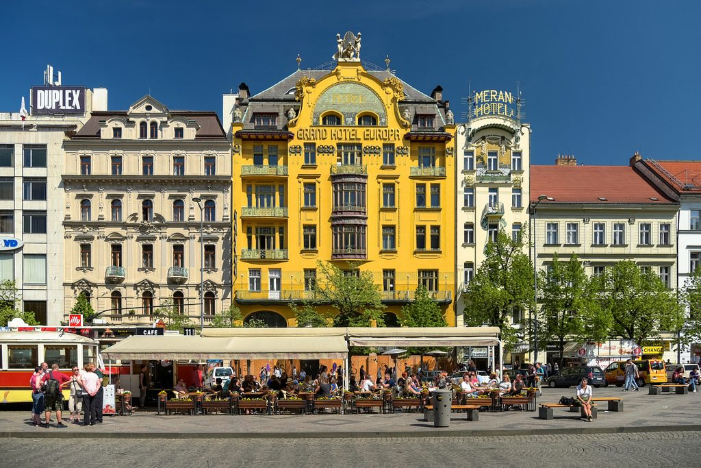 Grand Hotel Europa Prague (Czech Republic) Отель Чехия