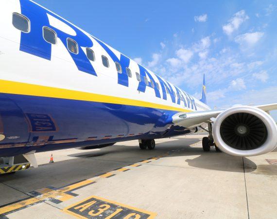 Самолет Ryanair Аэропорт Отъезд Авиация Jet