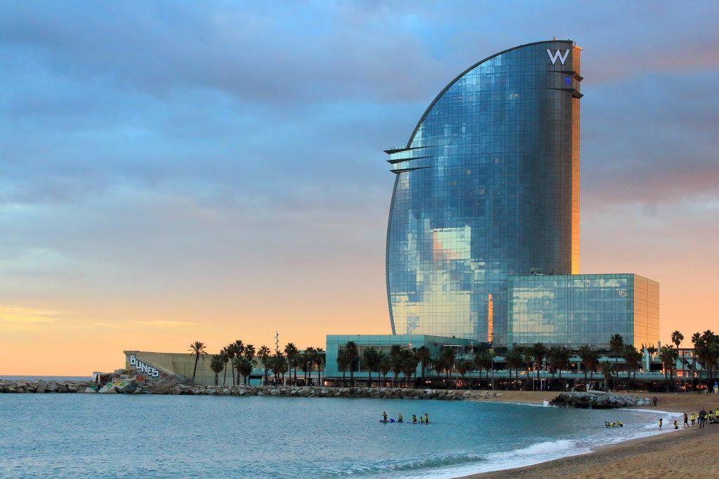 Барселона Отель W Barcelona Каталония Испания