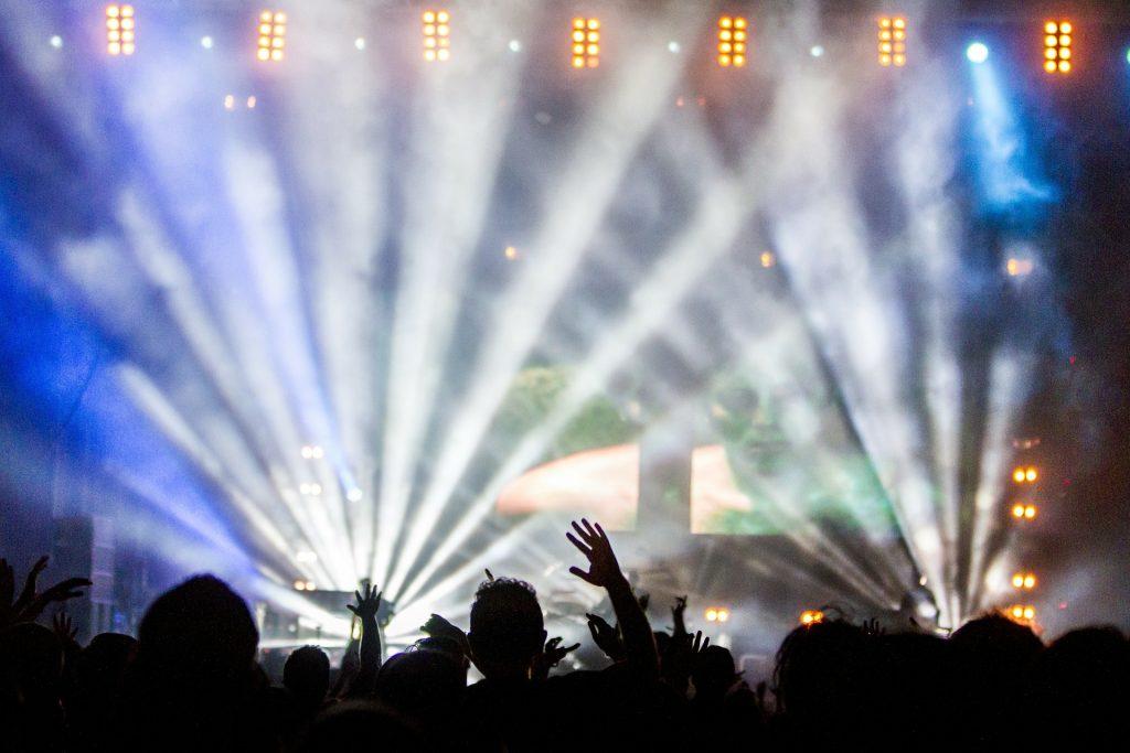 Концерт Дискотека Световое шоу