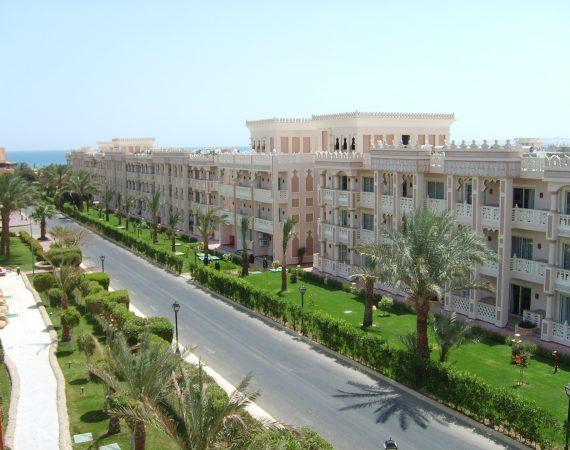Египет Отель Улица Хургада Горячие Солнце