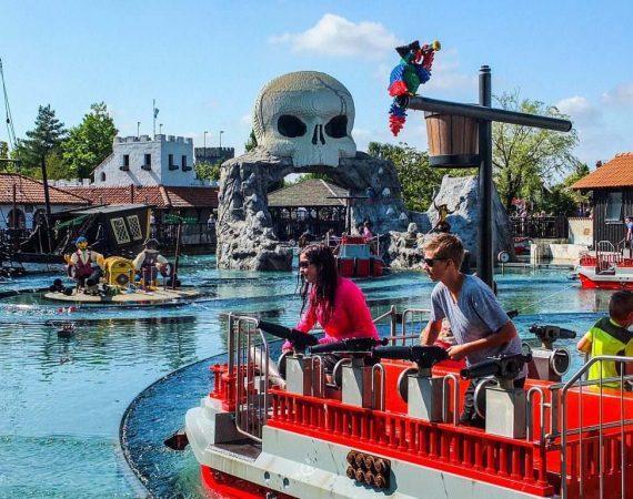 Парк развлечений Леголенд в Биллунне Legoland Billund