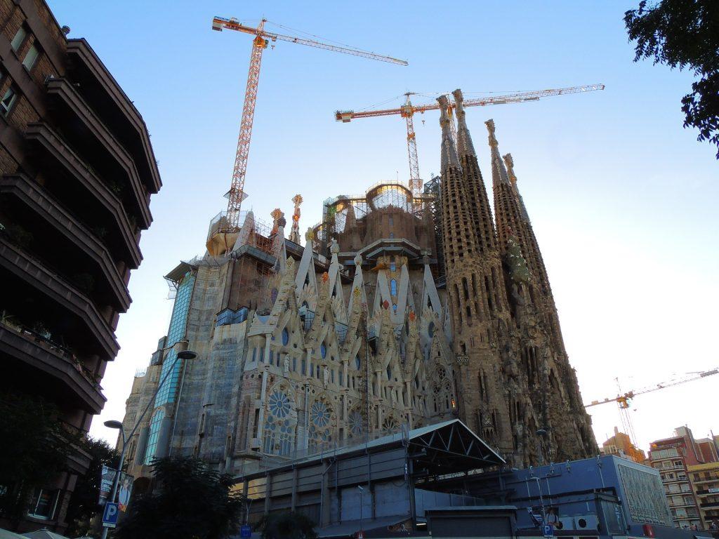 Барселона Испания Каталония Европе Путешествия