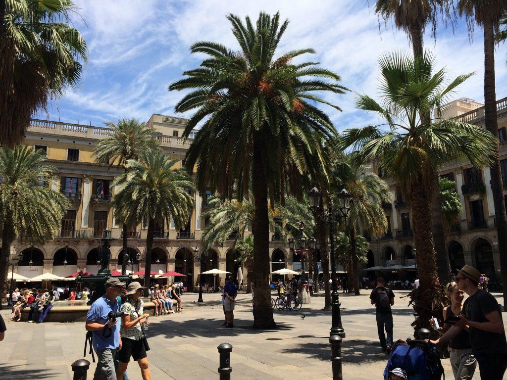 Барселона Город Испания Туризм Каталония