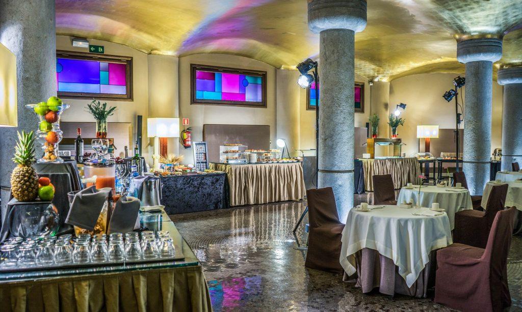 Зал Для Завтрака Отель Casa Fuster Барселона Испания