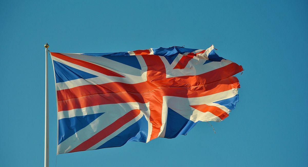 Британский Флаг Флаг Британский Великобритания