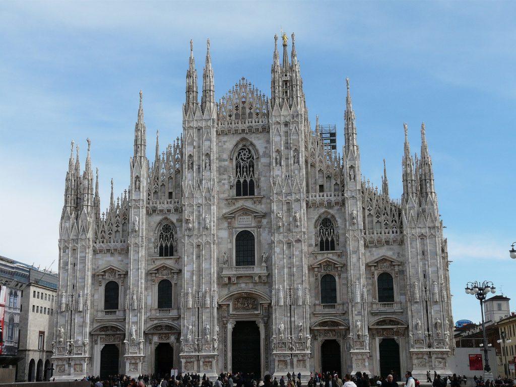 Кафедральный Собор Милан Архитектура Дуомо Милан