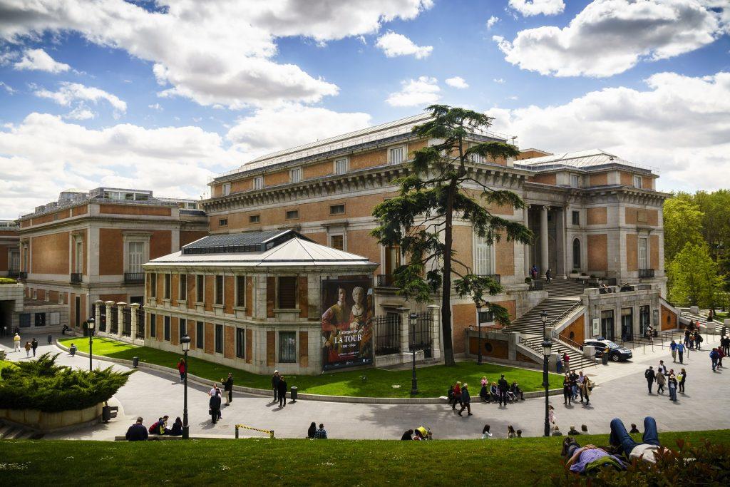 Мадрид Прадо Музей Архитектуры Искусство Столица