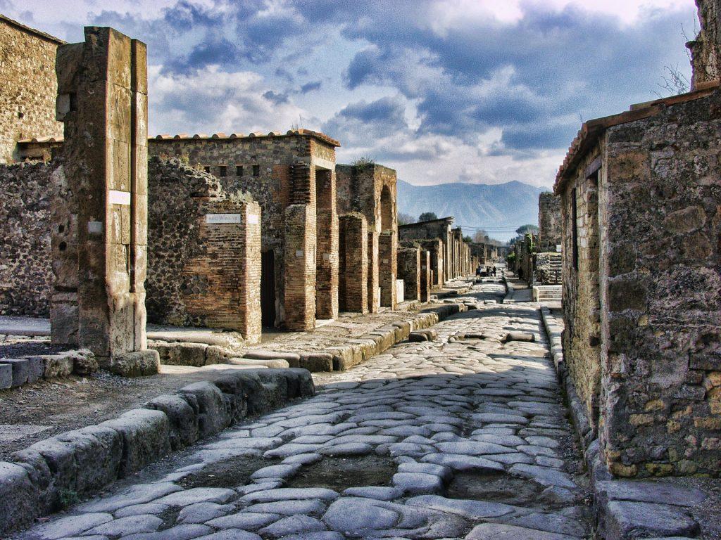 Помпеи Италия Роман Древние Путешествия