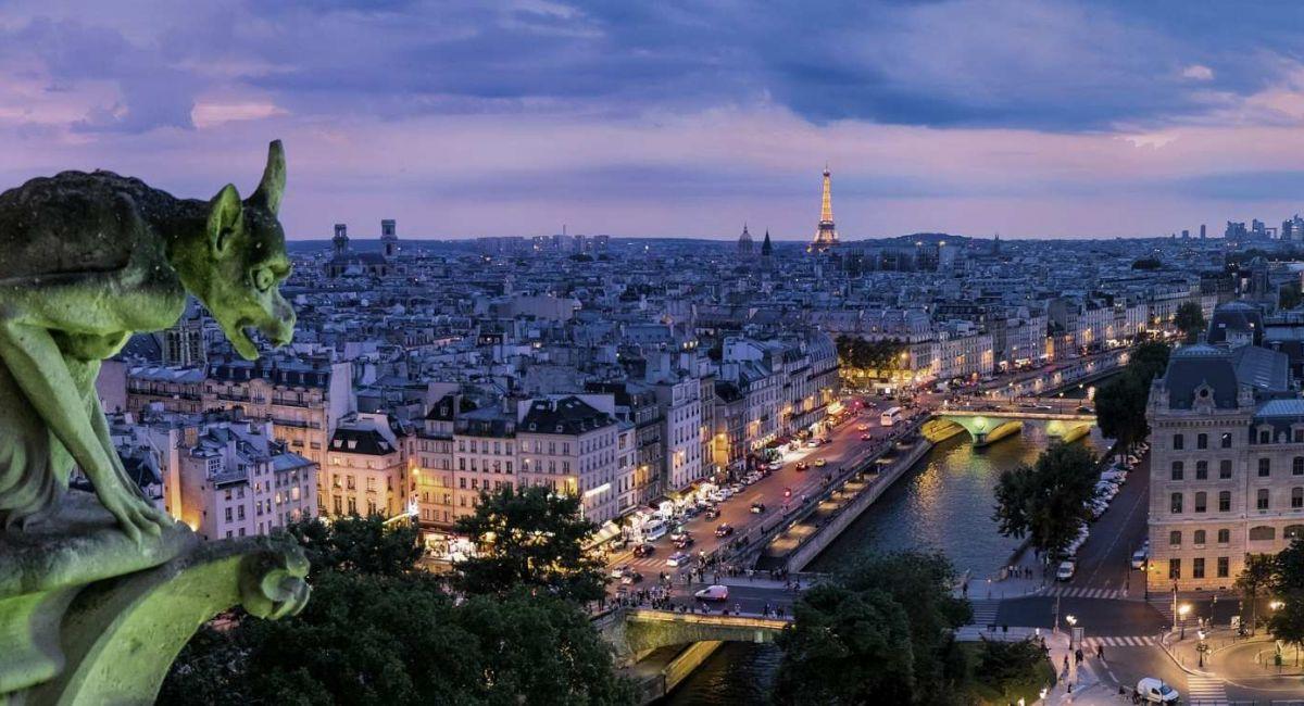 путеводитель по парижу оргулья Франция Архитектуры Зданий Капитала