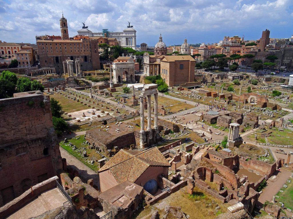 Рим Италия Античный Римский Форум