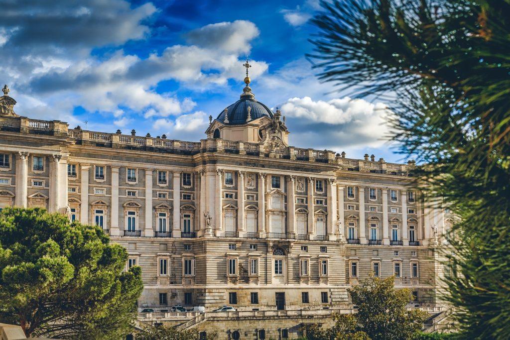 Королевский Дворец Мадрид Дворец Королевский