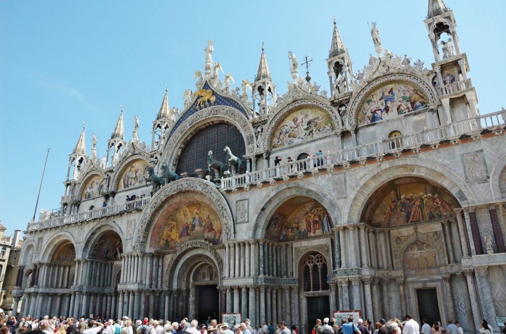 Базилика Венеция Италия Церковь Собор