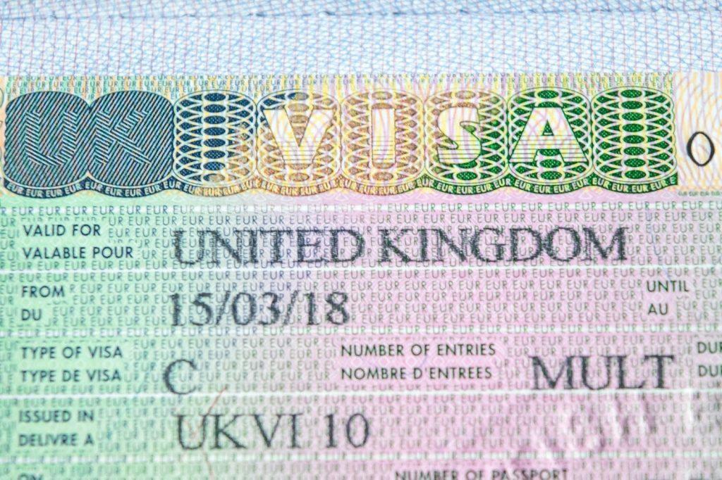 виза в британию для россиян в 2019 году UK