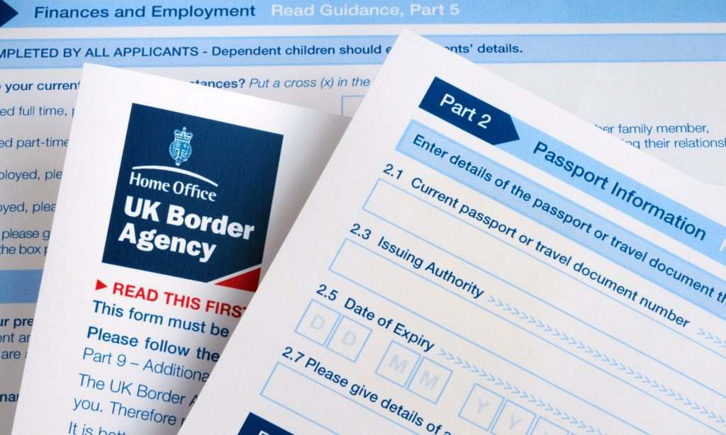 Анкета на получение визы в Великобританию. Читайте нашу статью, там инструкция!