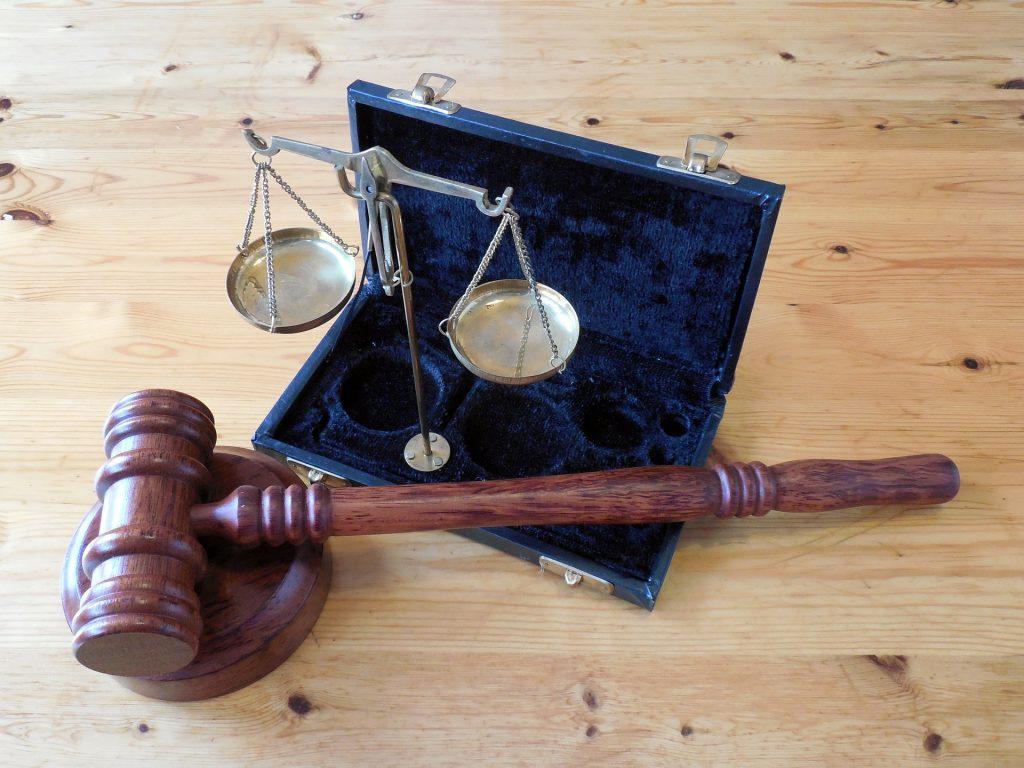Горизонтальные Судом Молот Правосудия Право Право