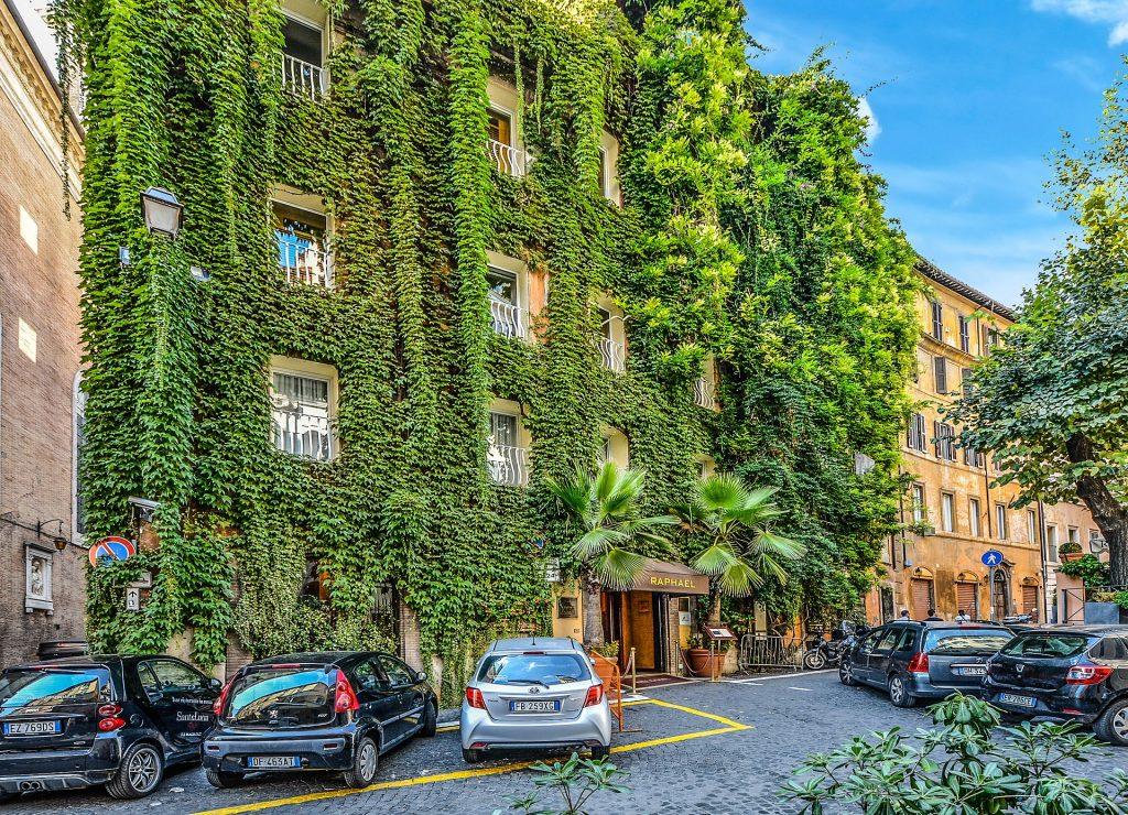 Отель Ivy Rome Рим Италия Итальянское Здание
