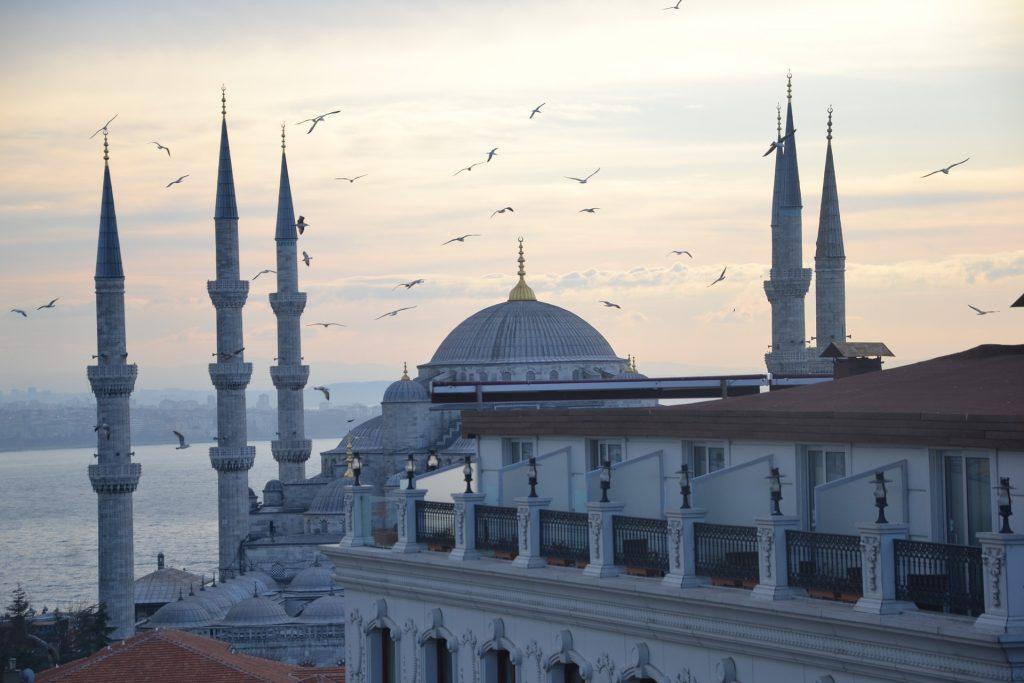 Стамбульская Голубая Мечеть Турция Султанахмет Стамбул