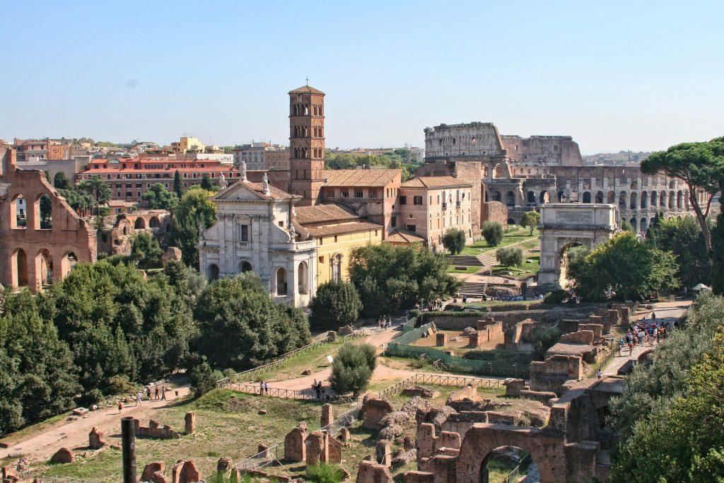 Италия Римский Форум Древняя Архитектура