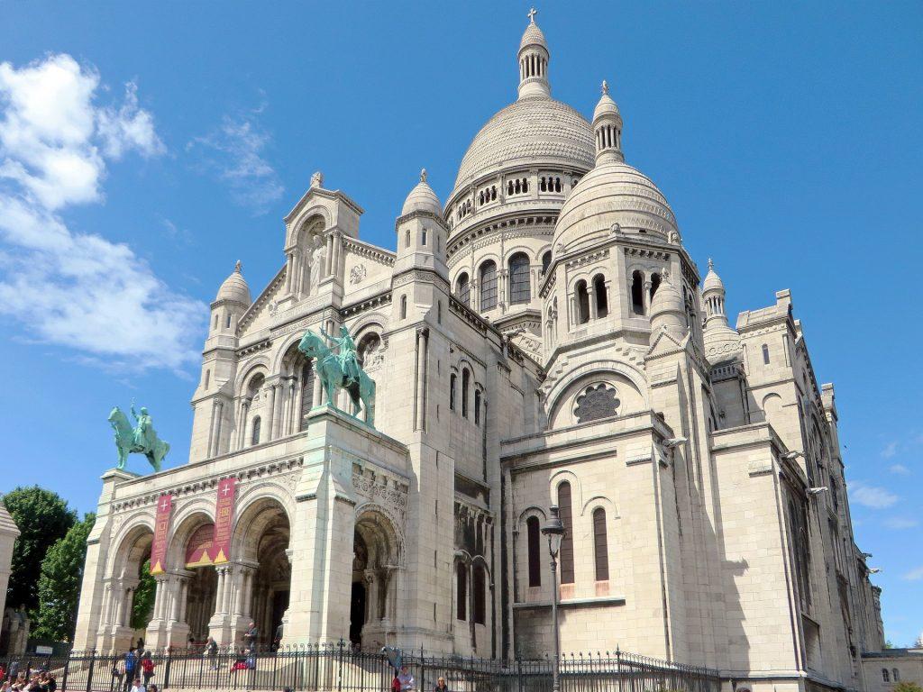 Париж Базилика Сакре-Кёр Святого Сердца Христова Базилика Монмартр
