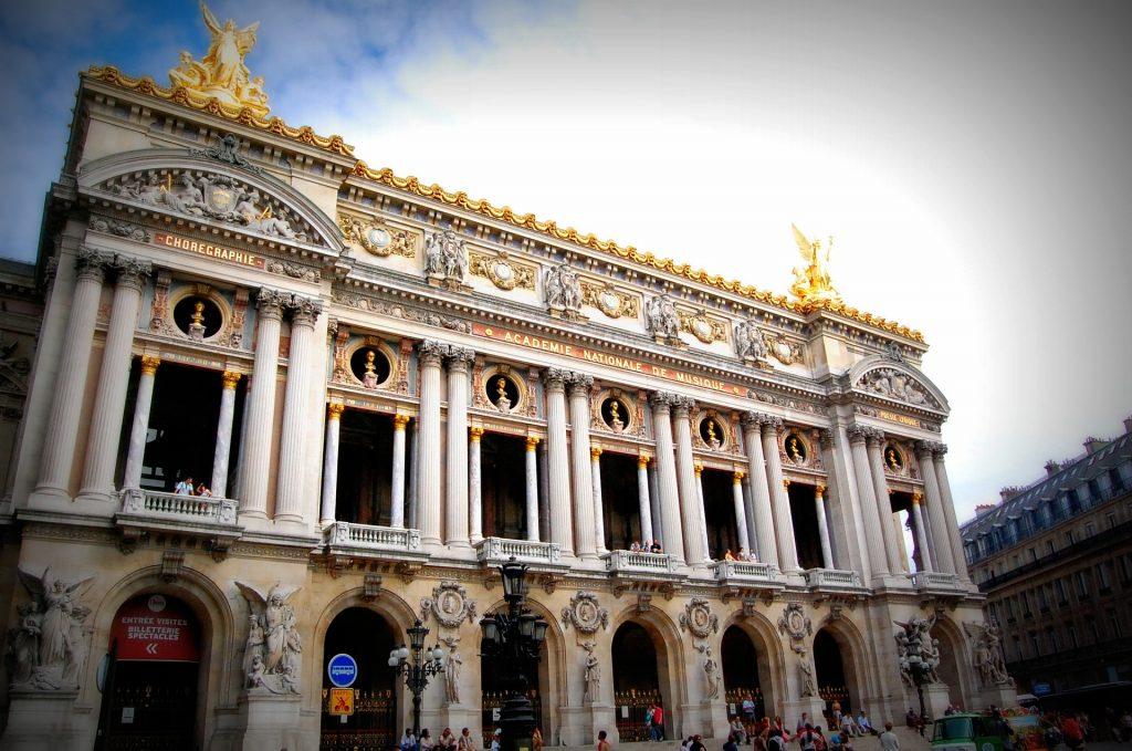 Парижская Опера Музыка Франция Здание