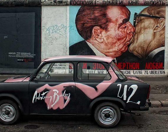 путеводитель по берлину Берлинская Стена Восточная Сторона Берлин Германия Памятник