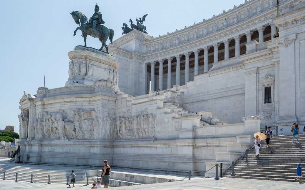 Римский Памятник Витторио Эммануэле 2