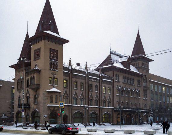 саратов консерватория фото зимой здание достопримечательность