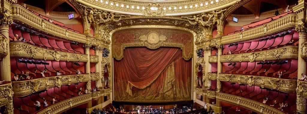 Парижская Опера Музыка Франция Внутри представление шоу