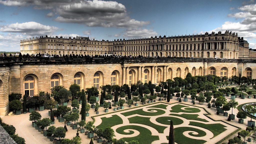 Версальский Дворец Версаль Париж Достопримечательности Сад