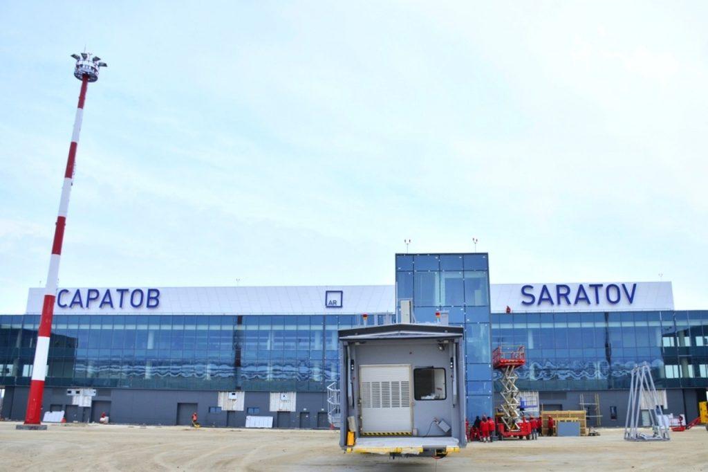 аэропорт гагарин фото здания