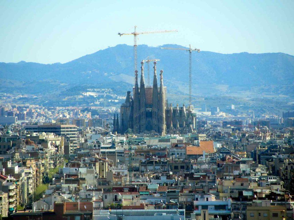 Барселона Церкви Испания Интересные Места Собор