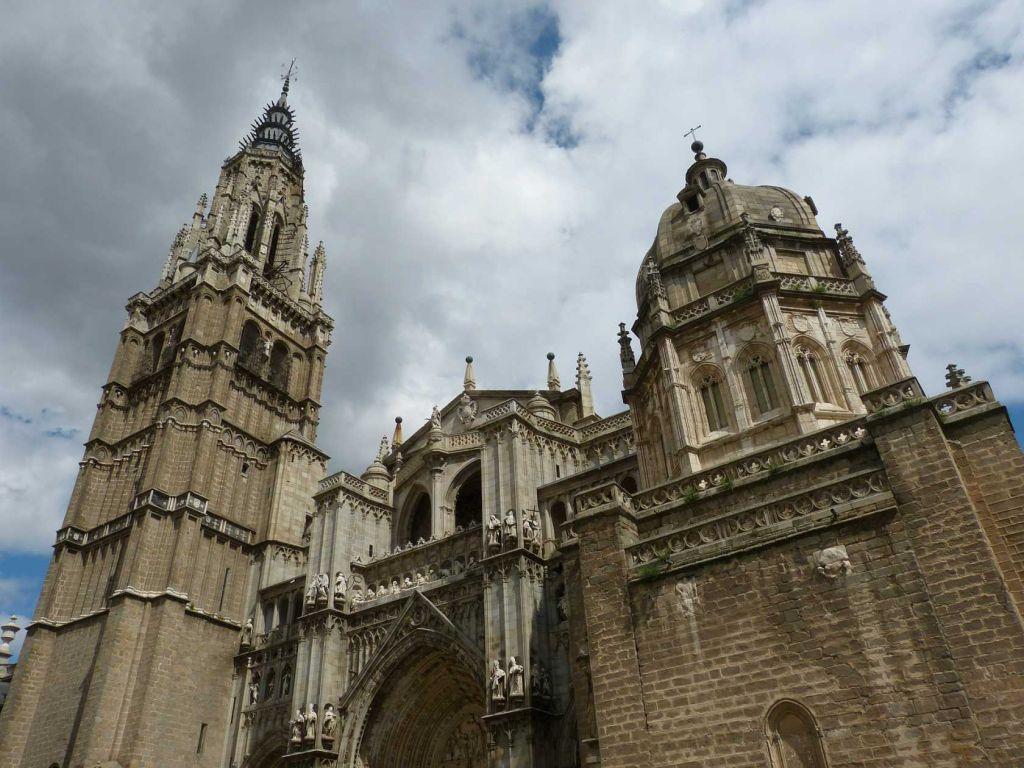 Толедо Собор Церкви Купол Испания Кастилия