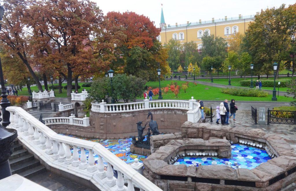 достопримечательности москвы александровский сад