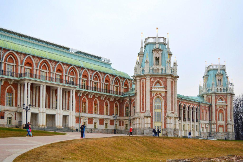 достопримечательности москвы царицыно