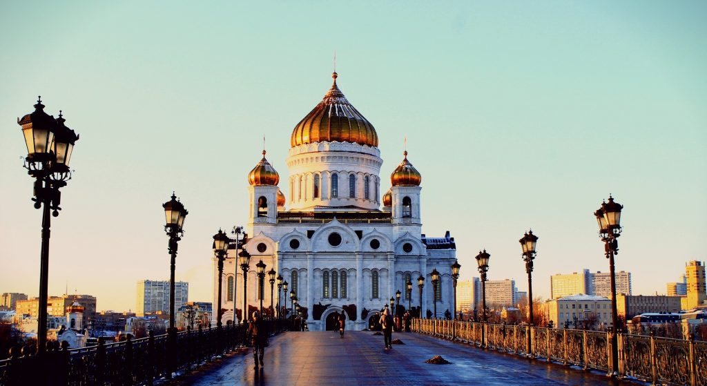 достопримечательности москвы храм христа спасителя