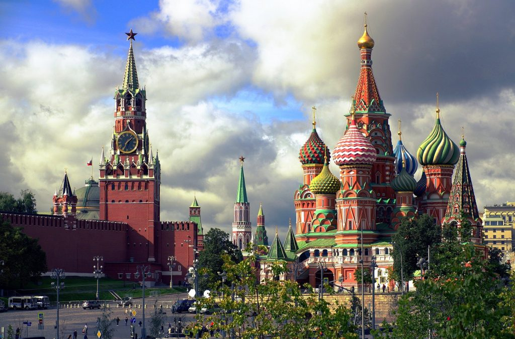 достопримечательности москвы Спасская Башня Собор Василия Блаженного
