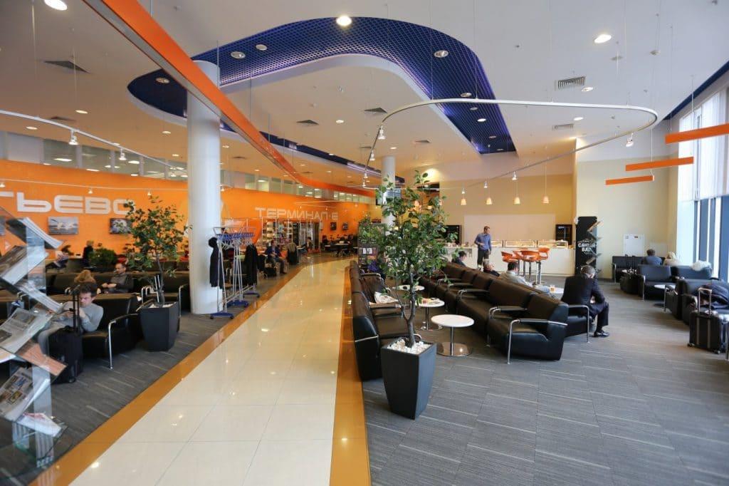 Бизнес залы Шереметьево: Е терминал «Галактика»