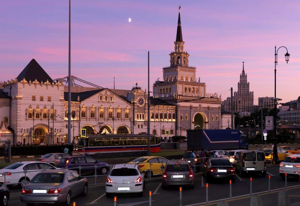 казанский вокзал добраться на такси
