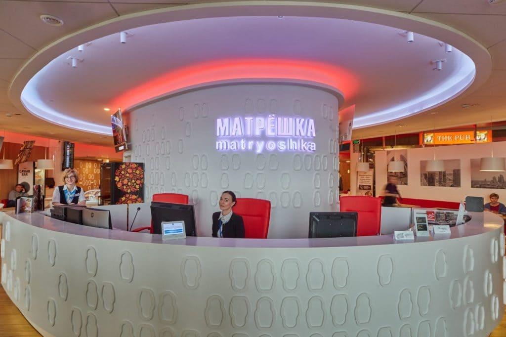 «Матрёшка» бизнес зал Шереметьево в терминале d