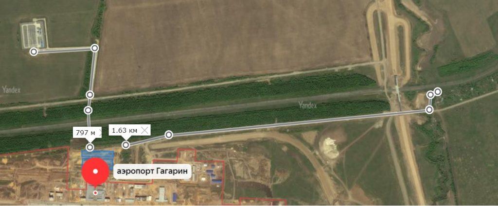 где бесплатная парковка у аэропорта гагарина