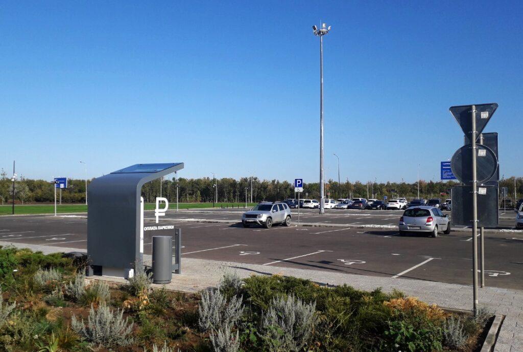 парковка аэропорт гагарин
