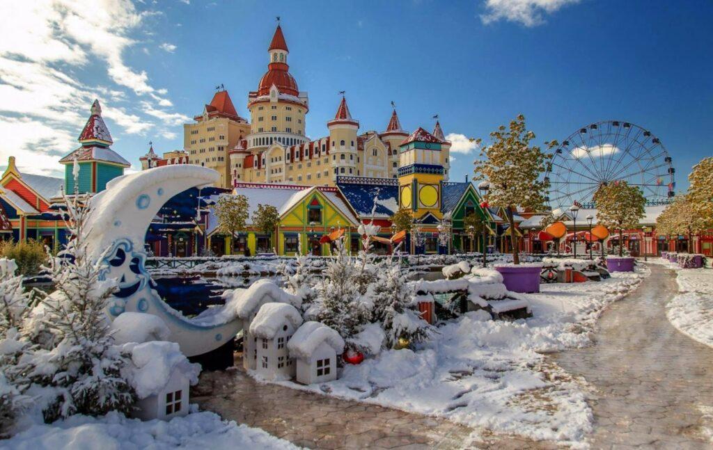 Сочи парк зимой