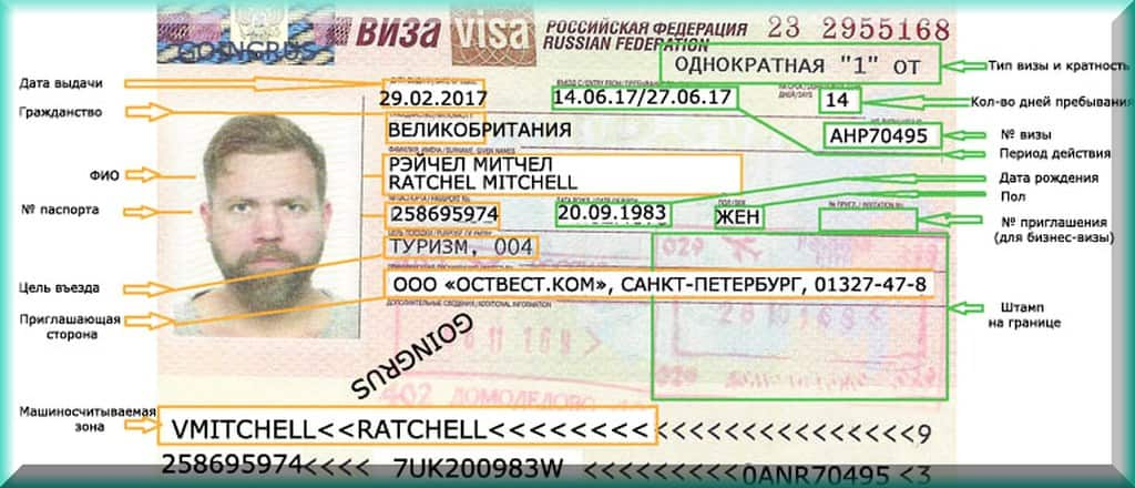 как получить визу в россию