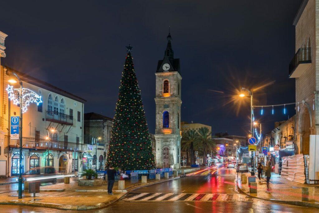 самые красивые города на рождество