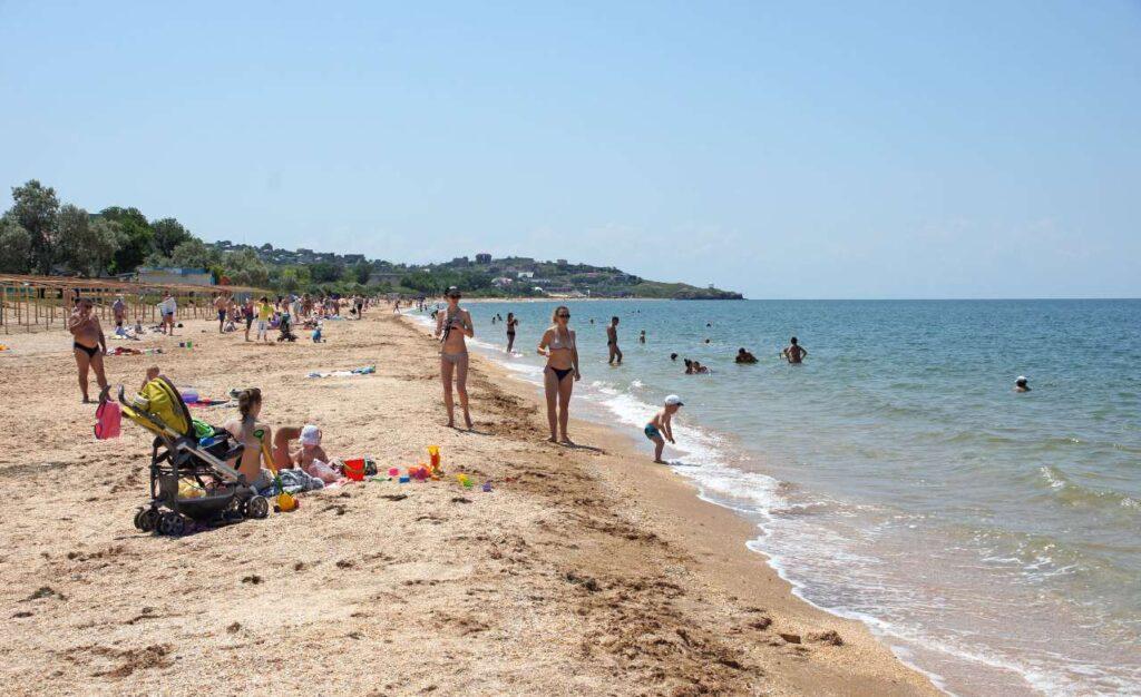 черное море отдых пляж